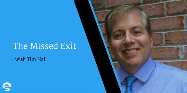 The Missed Exit – Interview with Tim Hall